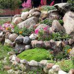 Décoration rocaille jardin
