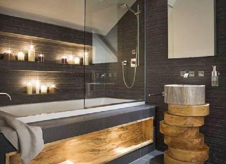 Decoration interieur salle de bain moderne - Design en image