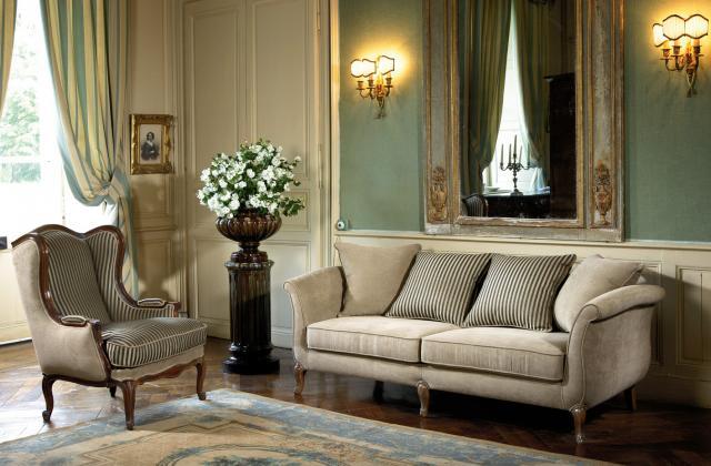 Décoration classique chic salon - Design en image
