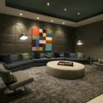 Decoration cinema maison