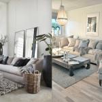 Decoration de salon couleur gris