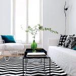 Décoration mur blanc salon