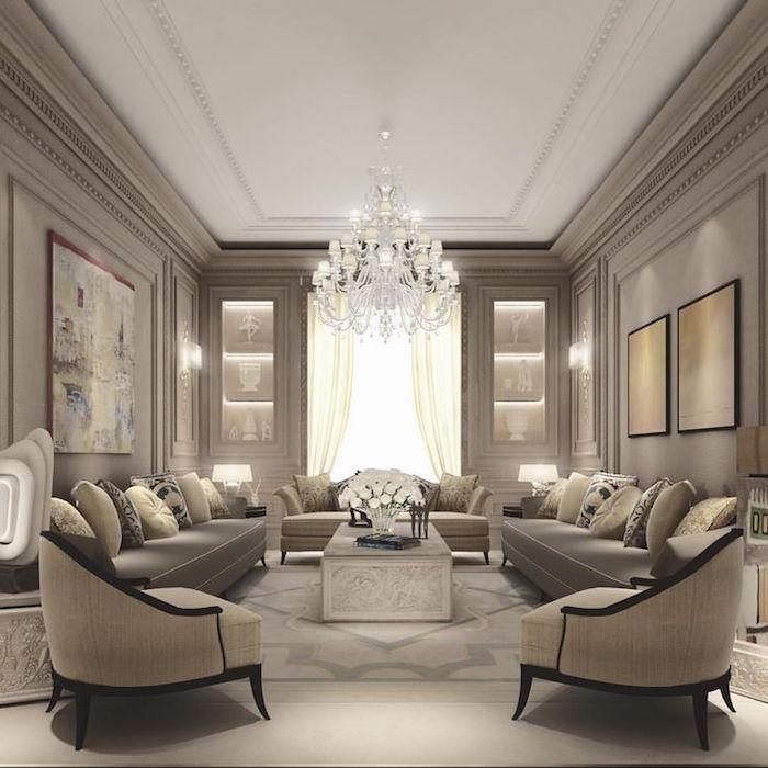 Decoration interieur maison marron beige taupe - Design en image