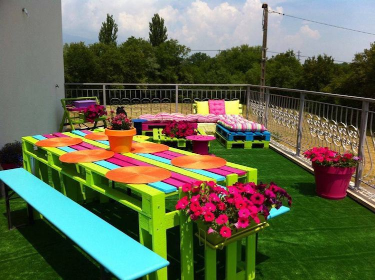 Decoration jardin a fabriquer - Design en image