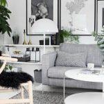 Decoration interieur gris et blanc