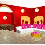 Decoration salon style inde