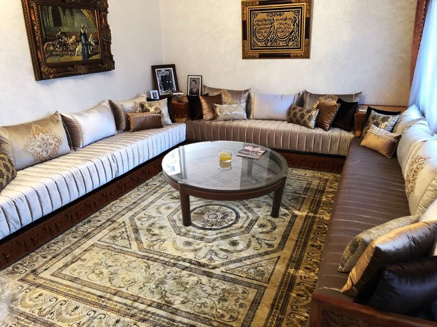 Superbe Decoration Pour Salon Marocain