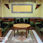 Salon décoration marocaine