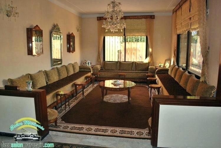 Charmant La Decoration Des Salon Marocain