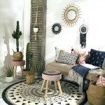Decoration salon ethnique