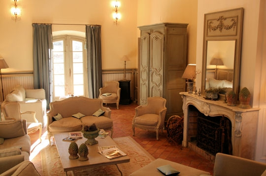 Décoration provençale salon
