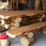 Decoration jardin avec du bois