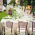 Décoration jardin pour mariage