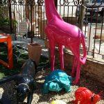 Decoration resine jardin