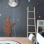 Decoration murale chambre bébé fille