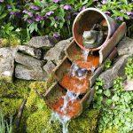Décoration jardin recup
