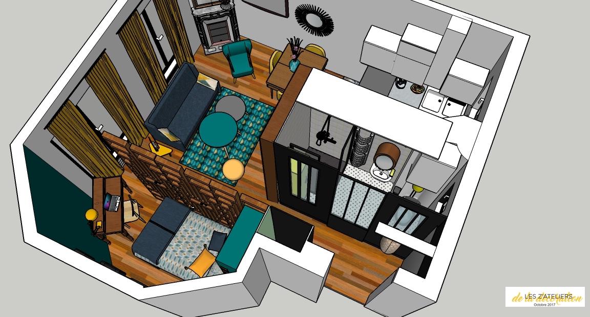 Décoration interieur 3d