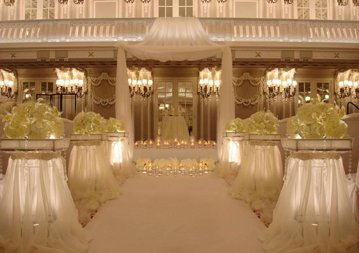 Decoration design for wedding