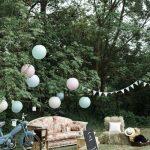 Decoration de mariage jardin