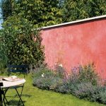 Mur de jardin decoration