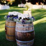 Decoration jardin tonneau