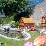 Decoration jardin bassin