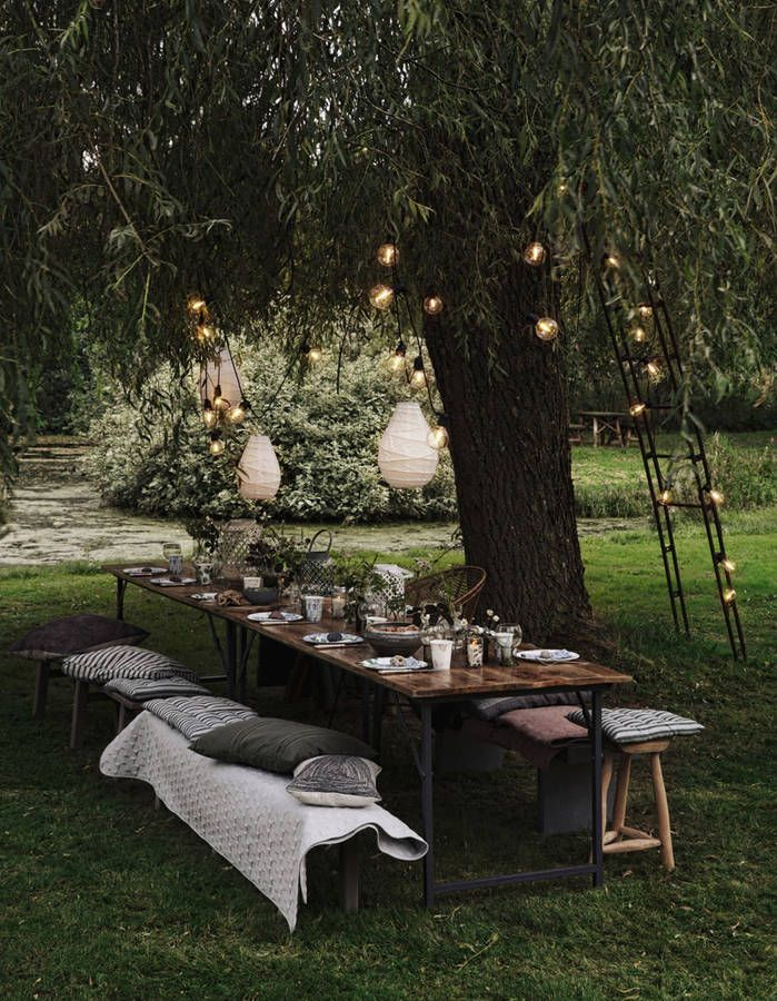 Decoration jardin table