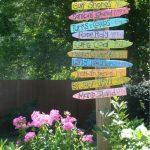 Decoration de jardin recyclage