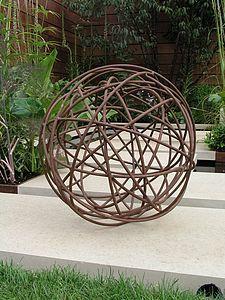 Decoration jardin sphere