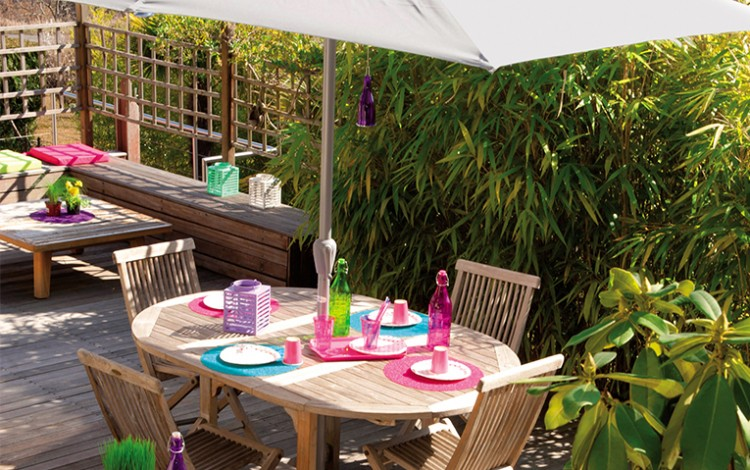 Decoration jardin babou