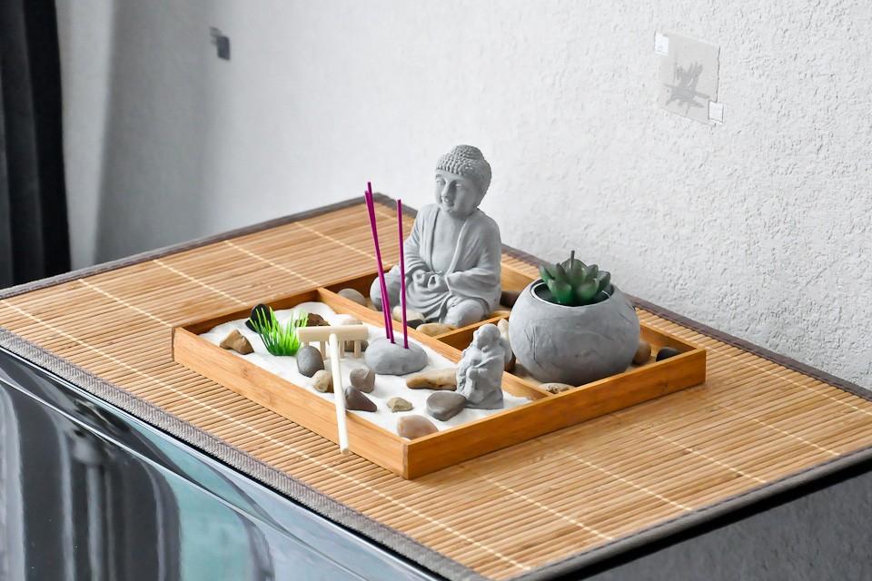 Jardin zen décoration intérieure