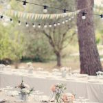 Decoration mariage theme jardin chic