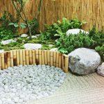 Decoration dans un jardin