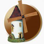Decoration jardin moulin a vent