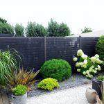 Décoration jardin grillage