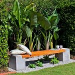 Decoration jardin en beton