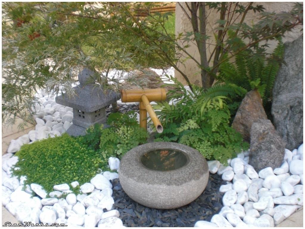 Decoration terrasse jardin japonais