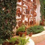 Decoration panneau jardin