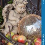Ange decoration jardin