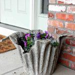 Décoration de jardin en ciment