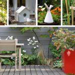 Un décoration de jardin