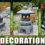 Decoration asiatique de jardin