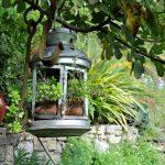 Décoration récupération jardin