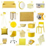 Decoration jardin jaune