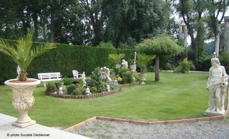 Pierre et jardin décoration