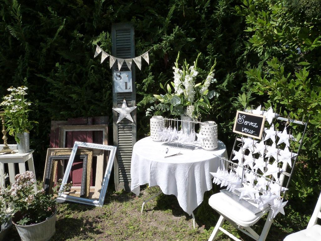 Décoration jardin réception - Design en image