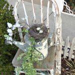 Décoration jardin shabby