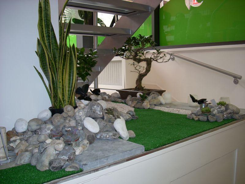 Décoration de jardin d'intérieur