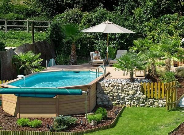 Decoration de piscine jardin