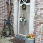Decoration pour porte de jardin